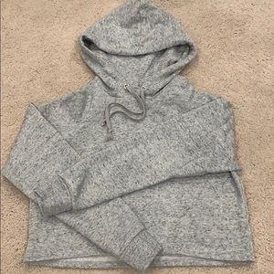 H&M's crop sweatshirt.
